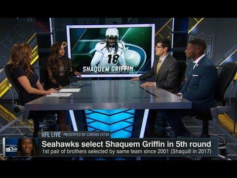 Shaquem Griffin to Seahawks | NFL Live | Apr 30, 2018