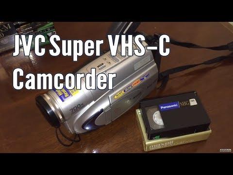 Jvc Gr Sxm260u Super Vhs C Camcorder Digital Tbc Youtube