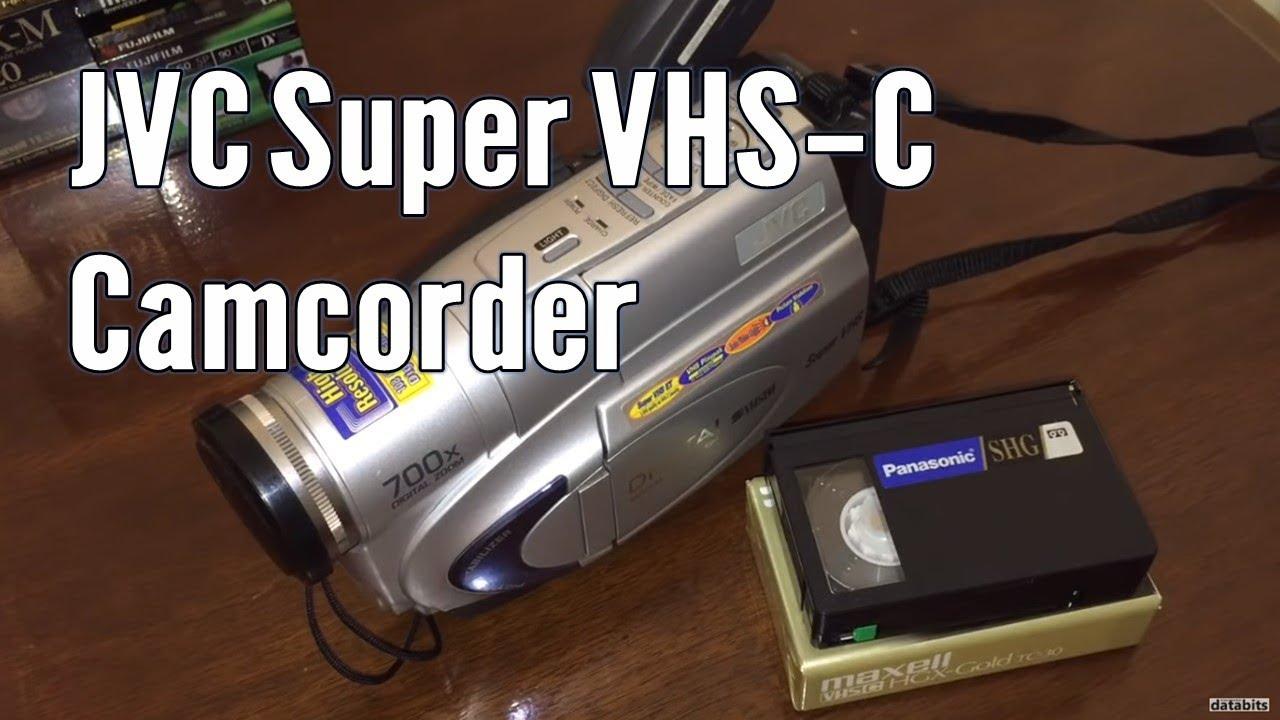 Jvc Gr-sxm260u Super Vhs-c Camcorder Digital Tbc
