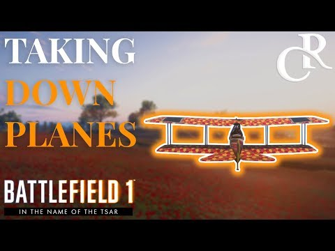 How to DESTROY Planes with LMG, Parabellum Unlock Tips - Battlefield 1