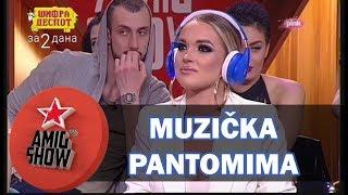 Muzička Pantomima - Anđelo i Teodora vs Sara i Vojke (Ami G Show S10)