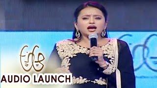 Download Hindi Video Songs - Anchor Suma Funny Speech At A Aa Audio Launch || Nithiin, Samantha, Trivikram, Mickey J Meyer