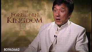 Jackie Chan Interview On Forbidden Kingdom Movie talking about Jet Li
