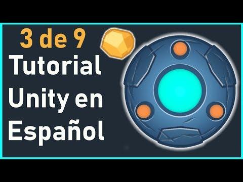 💥Unity tutorial español 2019 - UFO 2D Game: Controlando al Jugador 🎮 3/9 💥 thumbnail