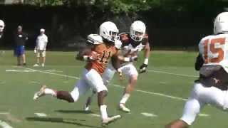 Longhorn Blitz: Spring practice No. 13 [April 15, 2015]