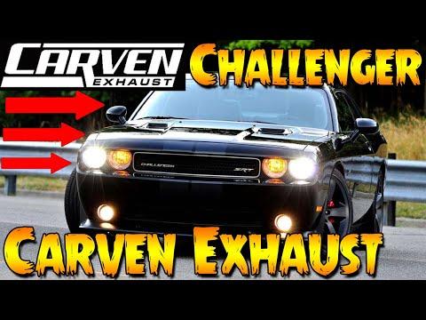 2014 Dodge Challenger R/T - Carven R Mufflers (Carven Exhaust)