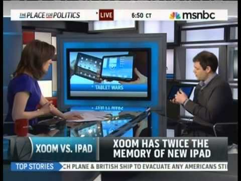 Jonathan Geller Founder of Boy Genius Report on MSNBC LIVE