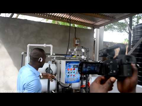 Bleo 88 year group donates water treatment plant to Accra Academy