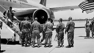 Nikon FM2/TRI-X 400: Soldiers Returning Home