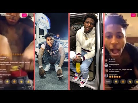 NBA YoungBoy Moments After Him and Quando Rondo Ran Down On