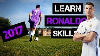 Learn CRISTIANO RONALDO Skills 2017 Tutorial | UFS2000