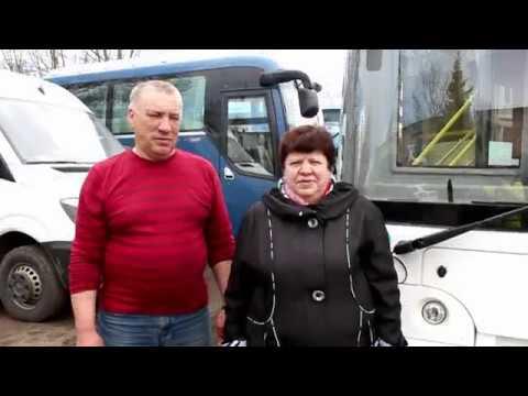 Семья Корчемкиных из кингисеппского автобусного парка