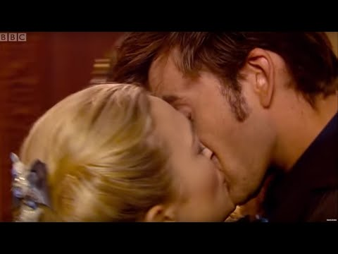 The Doctor Gets Snogged By Madame De Pompadour  - The Girl in the Fireplace - Doctor Who - BBC