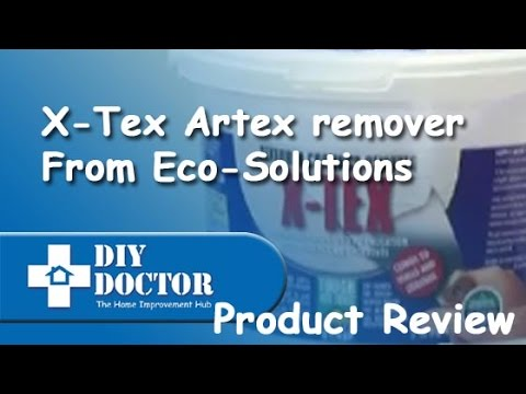 eco solutions x tex artex remover youtube. Black Bedroom Furniture Sets. Home Design Ideas