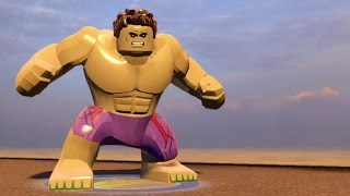 LEGO Marvel's Avengers - Hulk | Free Roam Gameplay [HD 1080p]