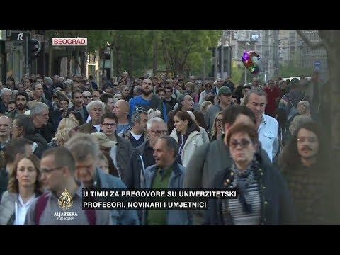 Poruka iz Beograda: Protest se nastavlja do pobjede