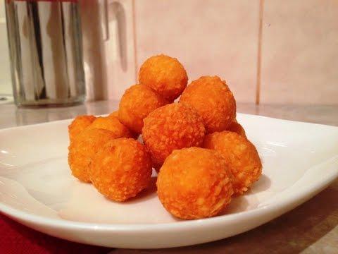 Как пожарить сырные шарики
