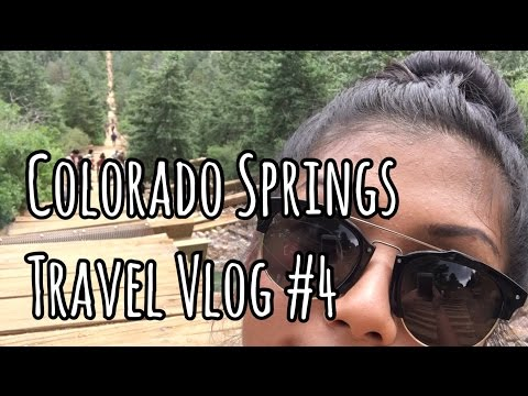 HIKING UP MANITOU INCLINE & DOWN BARR TRAIL | Colorado Springs, CO Travel Vlog