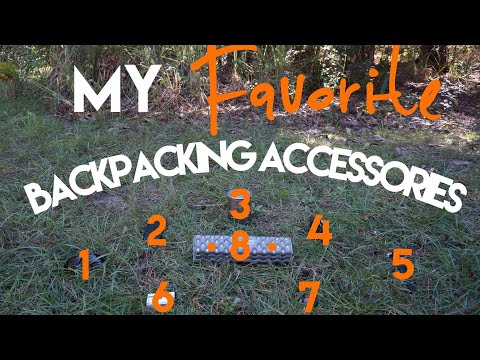 My Favorite Backpacking Accessories! (4K)