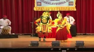 """Yakshagana held at Dubai """"Maduramahindra"""" -part1/i"""