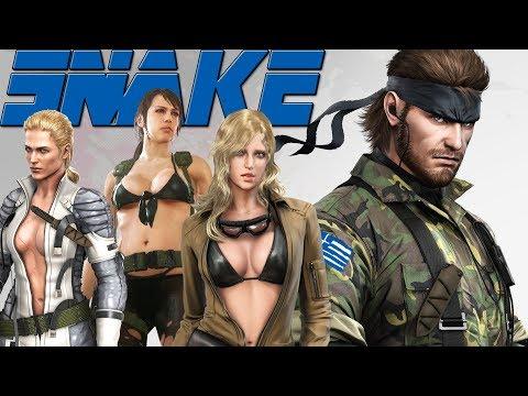 Η ιστορία του πατριώτη Φιδέμπορα (SNAKE - Metal Gear Solid)