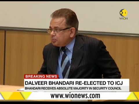 India's Dalveer Bhandari re-elected as ICJ judge
