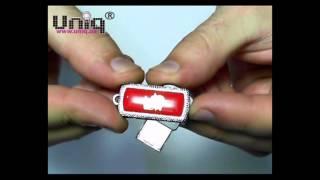 USB Флешка Uniq ZODIAK MINI Козерог красный (Capricorn) [