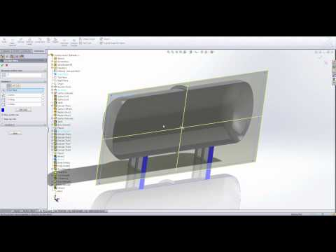 Pressure Vessel Testing in SolidWorks Simulation [Webcast]