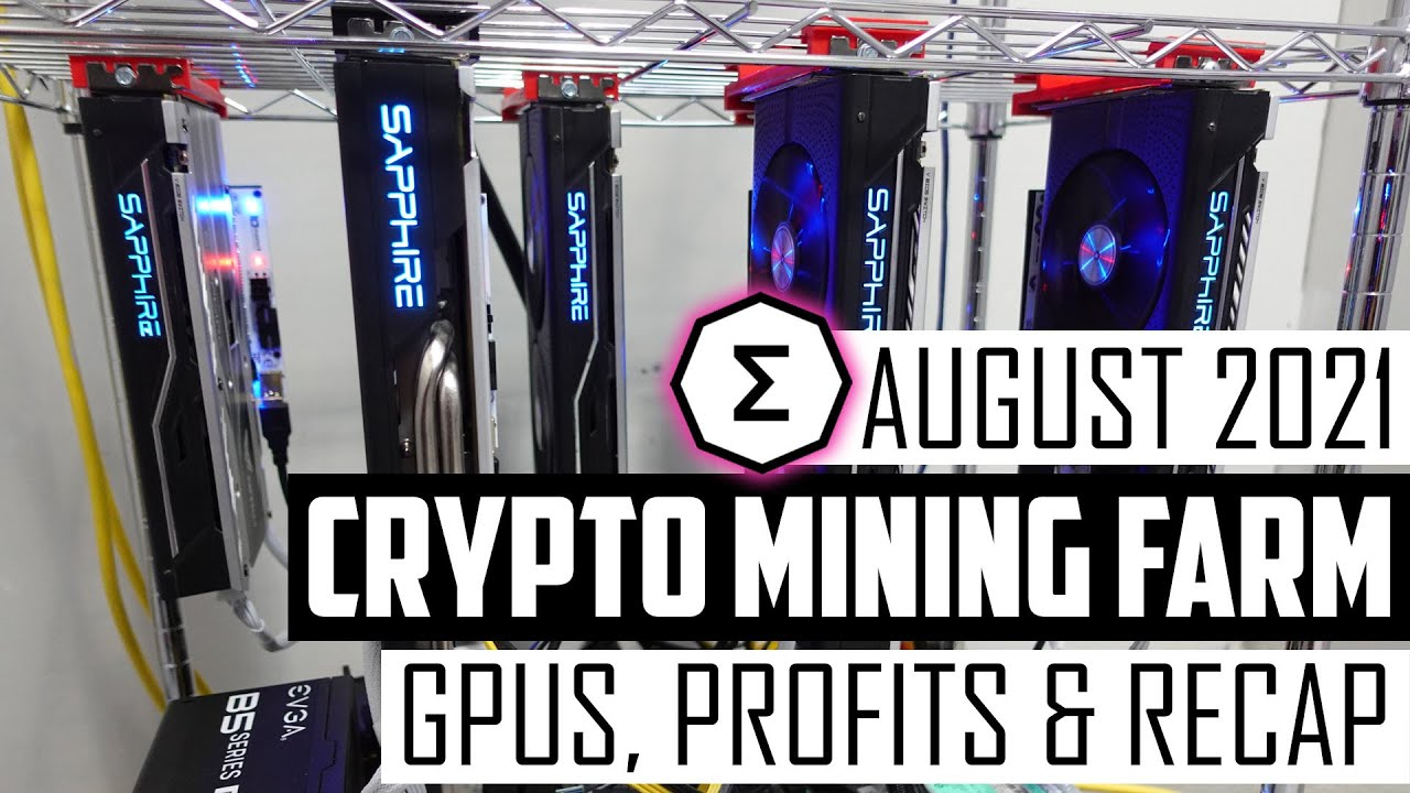 Download Crypto Mining Farm Update August 2021 - Profitability of Mining