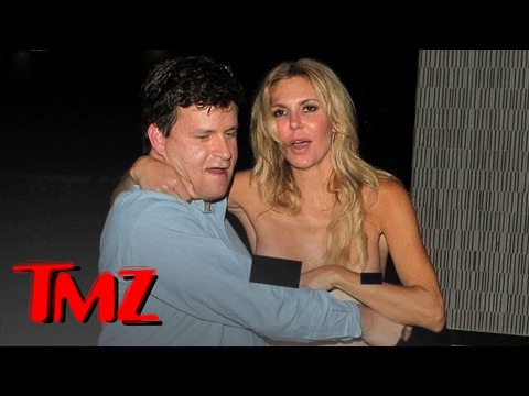 Really Drunk Brandi Glanville Has Wardrobe Malfunction | TMZ thumbnail