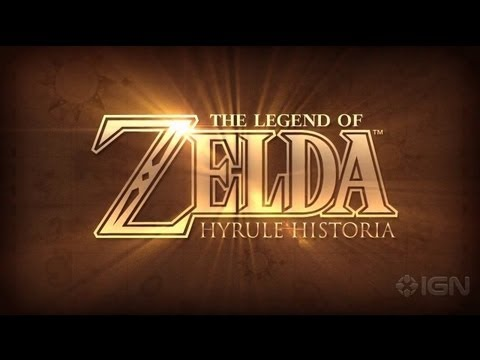 The Legend Of Zelda: Hyrule Historia Trailer