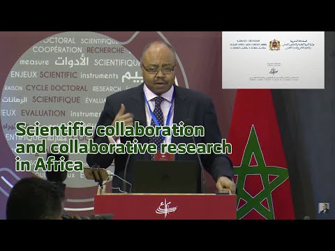 Scientific collaboration and collaborative research in Afric