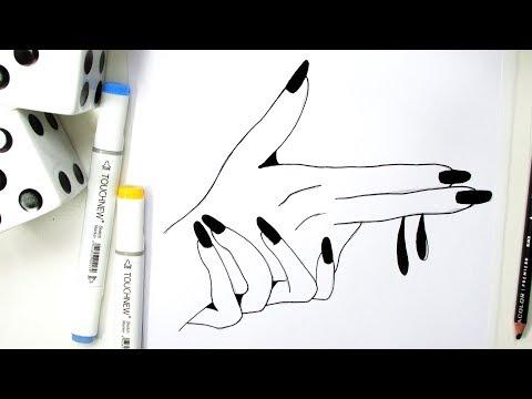 Como Fazer Um Desenho Estilo Tumblr Passo A Passo Youtube