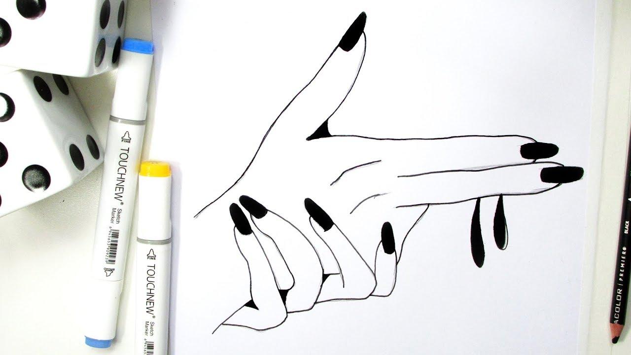 Como Fazer Um Desenho Estilo Tumblr Passo A Passo