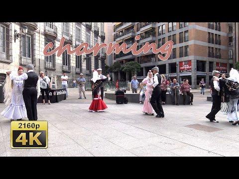 "Fiestas de Santiago 4, Bailemos ""Chotis"",  Madrid - Spain 4K Travel Channel"