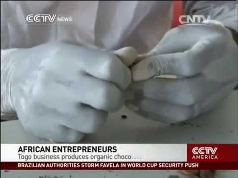 Togo business produces organic chocolate