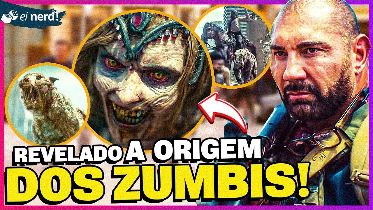 ZACK SNYDER REVELA A ORIGEM DOS ZUMBIS EM ARMY OF THE DEAD!