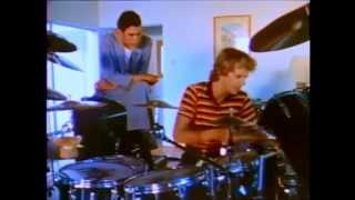 Jools Holland interviews Stewart Copeland (The Police) on the Caribbean island of Montserrat in 1981
