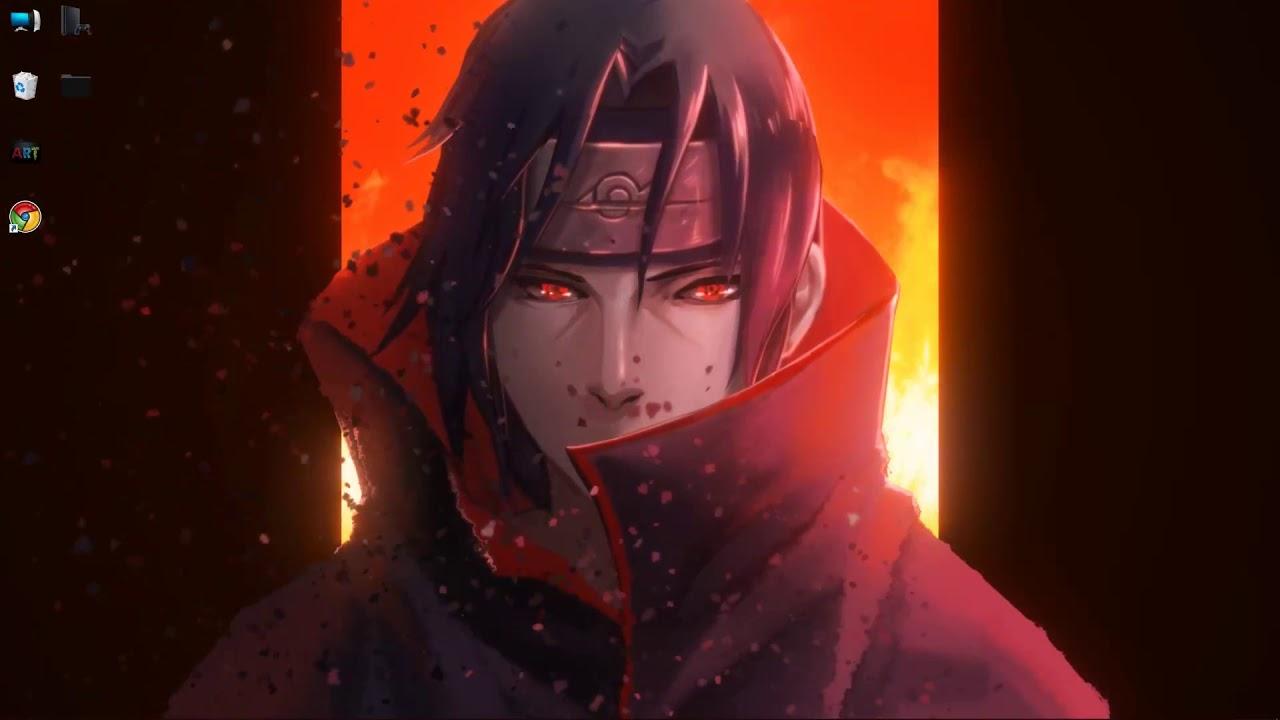 wallpaper engine Naruto - Itachi live wallpaper free ...