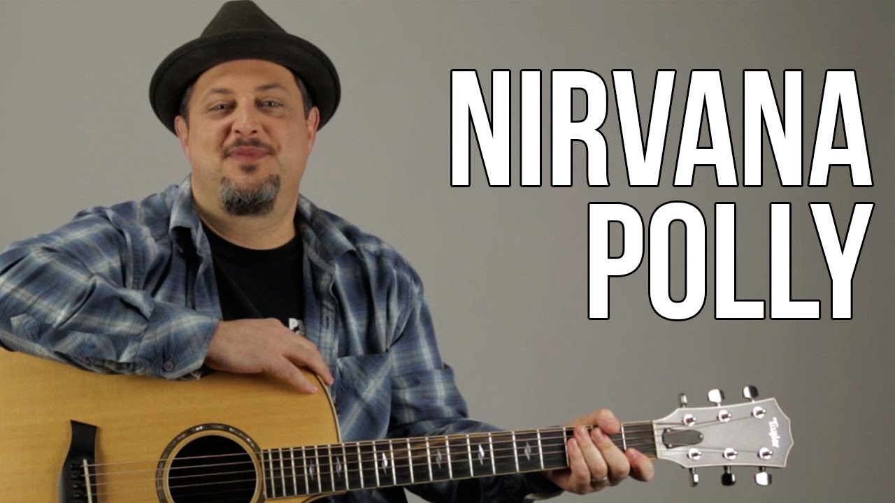 How To Play Nirvana Polly Youtube