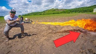 can-you-cook-an-egg-with-a-flamethrower