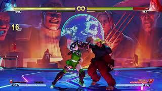 Street Fighter® V stylish Ibuki Fuuma shuriken routes