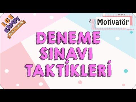 Deneme Sınavı Taktikleri | Motivatör (Rehberlik)