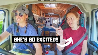 VAN WIVES REUNITED.. and some new wheels!! What's in the box! Vanlife UK. Turboant electric scooter.