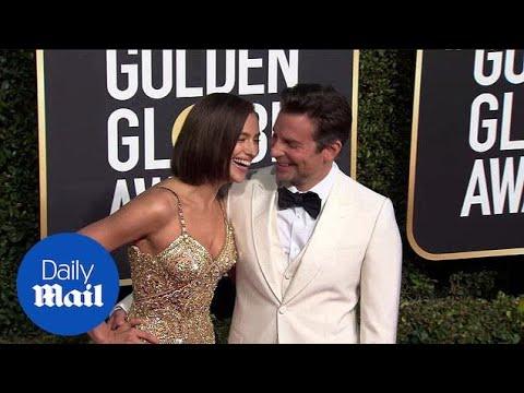 The look of love! Bradley Cooper & Irina Shayk at Golden Globes