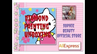 Hello Kitty Diamond Painting Unboxing, Take 2 - Sophie Beauty Official Store