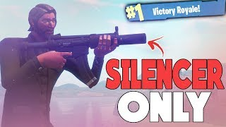 The John Wick Challenge (Suppressed Weapons Only) | Fortnite Battle Royale