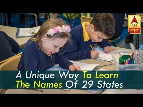 This Teacher Has A Unique Way To Make Kids Learn The Names Of 29 States
