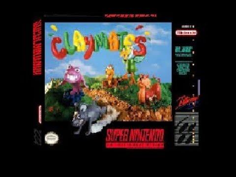 Claymates Super Nintendo