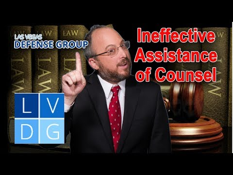 Ineffective Assistance of Counsel in Nevada